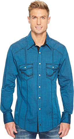 Rock and Roll Cowboy - Long Sleeve Snap B2S3138