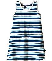 Toobydoo - Tank Dress Multi Blue Stripe (Infant/Toddler)