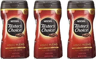 Nescafe Taster's Choice House Blend (light-medium) Instant Coffee Net Wt 12 Oz( 3 Pack)