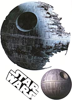 Death Star Mini Fathead Graphic Star Wars Logo Set Official Licensed Vinyl Wall Graphics 7