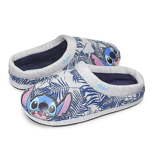 998a37d97 Disney Unisex Lilo Stitch Aloha Scuffs Slippers