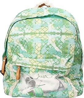 Just One Handtaschen Damen segeltuch grün