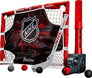 Franklin Sports Mini Hockey Automatic Passer, Goal & Target Set