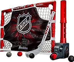 Franklin Sports Mini Hockey Automatic Passer, Goal & Target Set