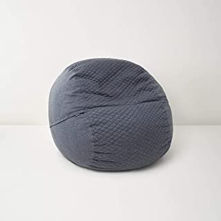 Tuft & Needle Pouch | The Better Bean Bag Chair | Crafted w/Proprietary CertiPUR-US Certified Adaptive Foam | Soft Quilted Removable Cover | Made in USA | 100-Day Trial | 3-Year Warranty