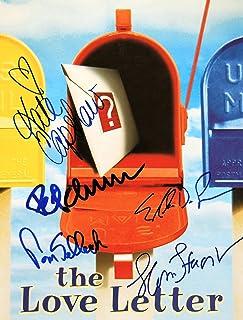 1999 - The Love Letter Program - Cast Signed - Autographed by Tom Selleck / Kate Capshaw / Ellen DeGeneres / Gloria Stuart...