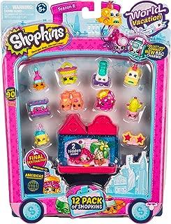 Shopkins - 12 Pack - Series 8 Americas /toys