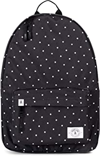 Vintage Backpack, Polka Dots slim lightweight