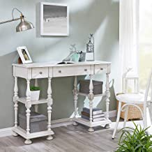 Southern Enterprises Dorset Desk, Antique White