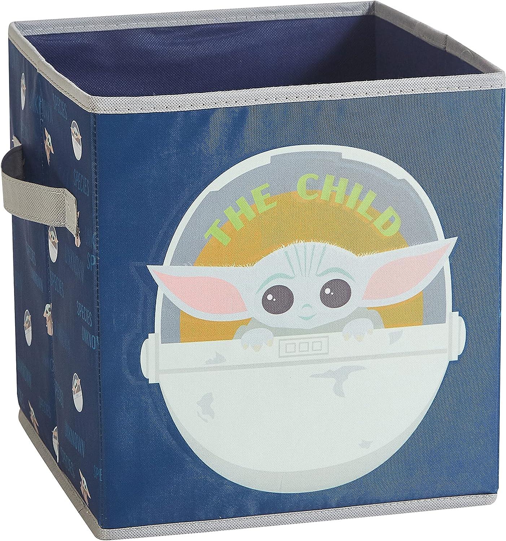 Idea Nuova Star Wars: The Mandalorian Featuring The Child Glow in The Dark Storage Cube
