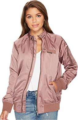 Members Only - Washed Satin Ex-Boyfriend Jacket