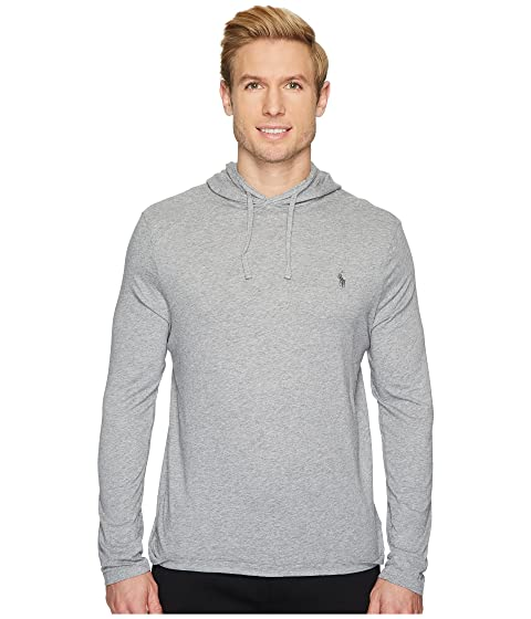 a6200dbb9 Polo Ralph Lauren Hooded Jersey T-Shirt at Zappos.com