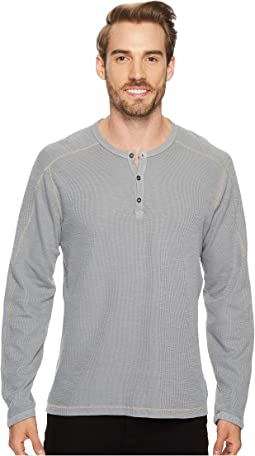 Riptide Long Sleeve Henley Slub Thermal