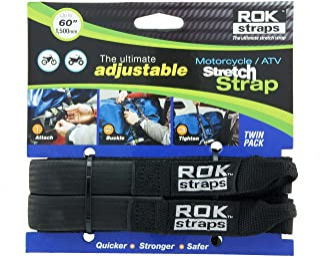OXFORD ROK Bandjes HD 25mm Adj Zwart ROK025