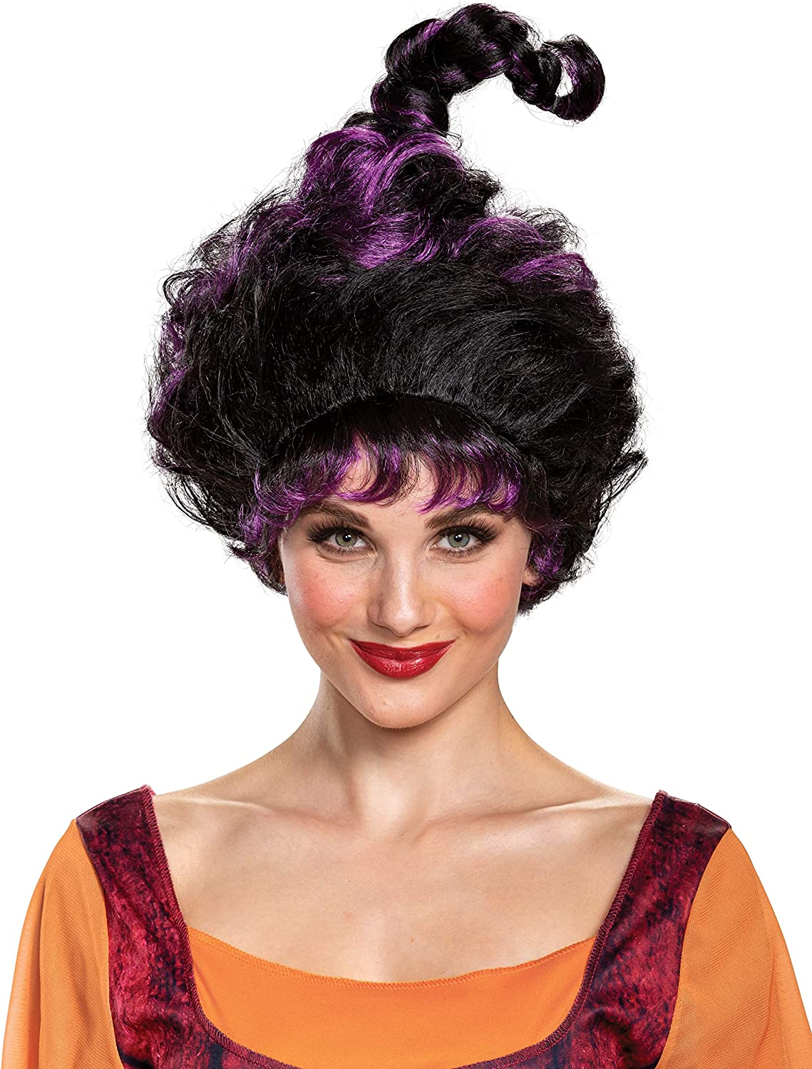 Disguise Hocus Pocus Free Mesa Mall shipping Deluxe Adults Wig for Mary