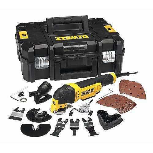 Multi-Cutter DEWALT 300 W Filaire + 32 Accessoires Coffret T-STAK - DWE315KT