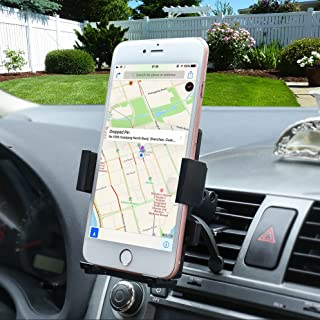 Gright Car Mount, Univeral Cell Phone Car Phone Mount Holder Cradle for iPhone 7/6S/6/5S/7 Plus, Samsung Galaxy S8 S7 Edge S6 S5 Note 5/4,Nexus,HTC,LG,Sony More Smartphone&GPS