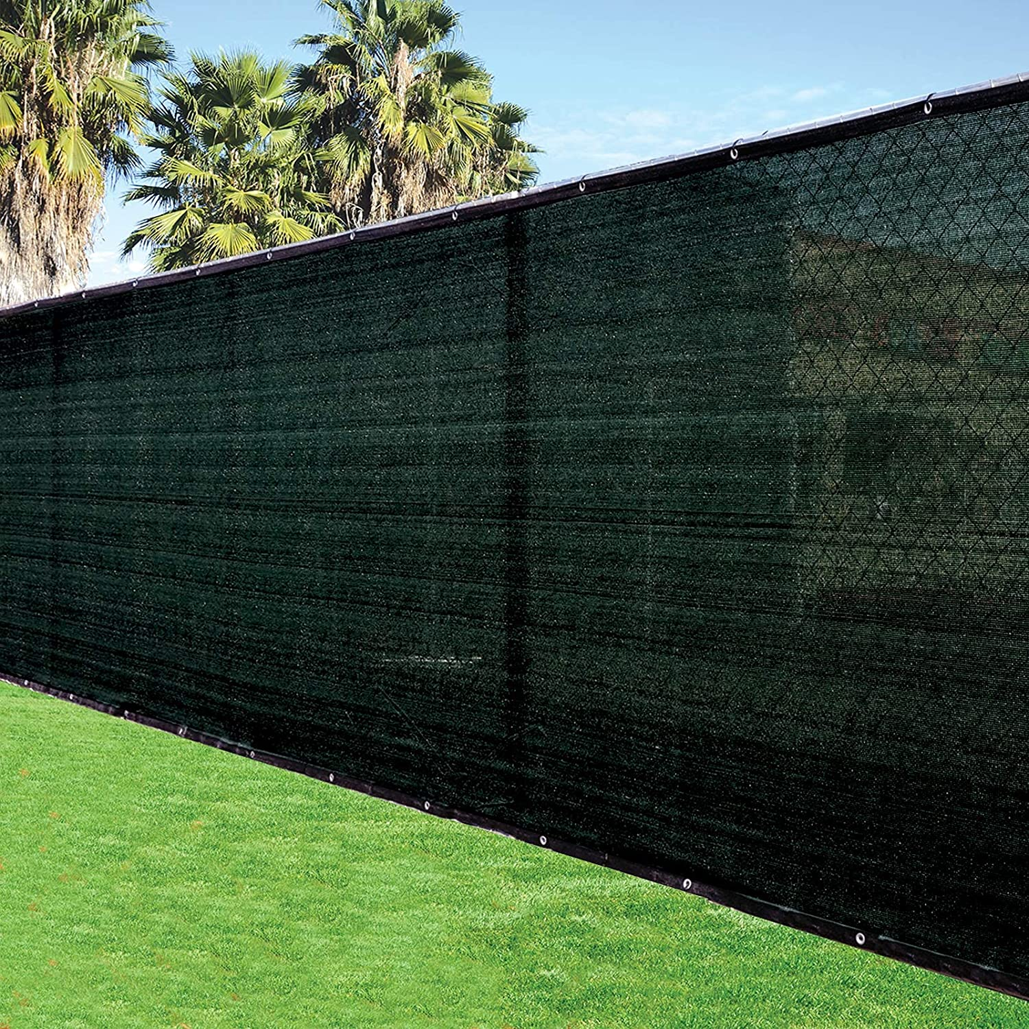 Fence4ever Max 89% List price OFF 6' x 50' 3rd Gen Windscree Screen Black Fence Privacy