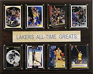 NBA Los Angeles Lakers All-Time Greats Plaque