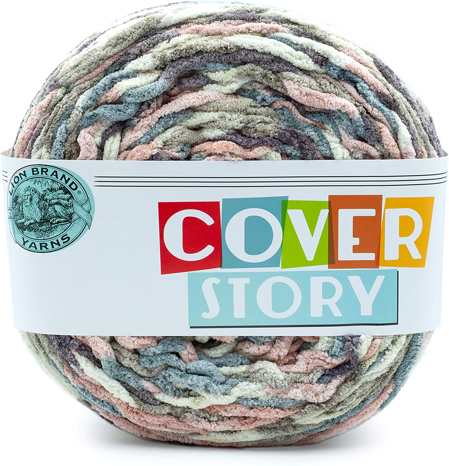 Lion Brand 2021 autumn and winter new Yarn Cover Story Emery yarn Cheap super special price