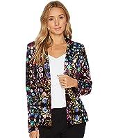 Tahari by ASL - Floral Velvet Jacket