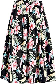 hawaiian print skirts