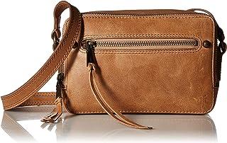 FRYE Leather Zip Camera Crossbody Bag