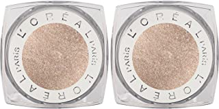 L'Oreal Paris Cosmetics Infallible 24hr Shadow, Iced Latte, 2 Count