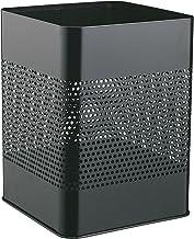 Durable 332101 Kosz na śmieci (metalowy, 18,5 l.), opak. 1 sztuka, kolor czarny.