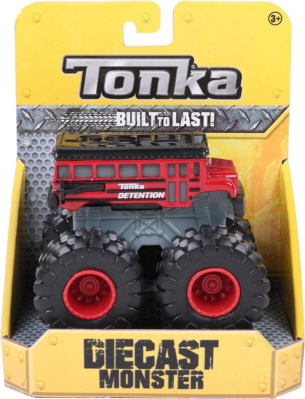 Tonka 07387Die Cast Monsters School Truck