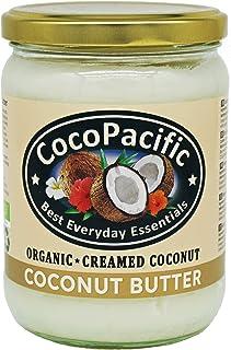 CocoPacific - Crema de manteca de coco bio, 500 ml