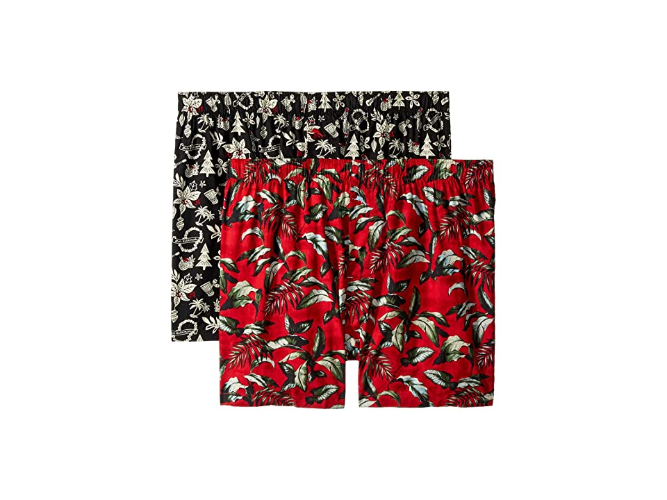 Tommy Bahama - Tommy Bahama 2-Pack Woven Boxer Set