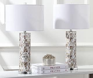 Safavieh Lighting Collection Boise Cream 28.9-inch Table Lamp (Set of 2)