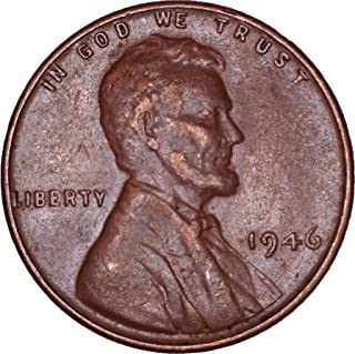 1946 Lincoln Wheat Cent 1C About Uncirculated