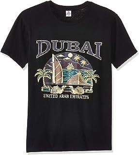 Dubshi D115 Men's Dubai T-shirt, Black