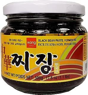 WANG'S Fermented Black Bean Paste Chunjang 17.6 Oz. (1.1 lbs.)