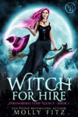 Witch for Hire (Paranormal Temp Agency Book 1) Kindle Edition