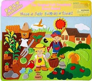 Felt Creations HU9214 Garden Felt Story Board