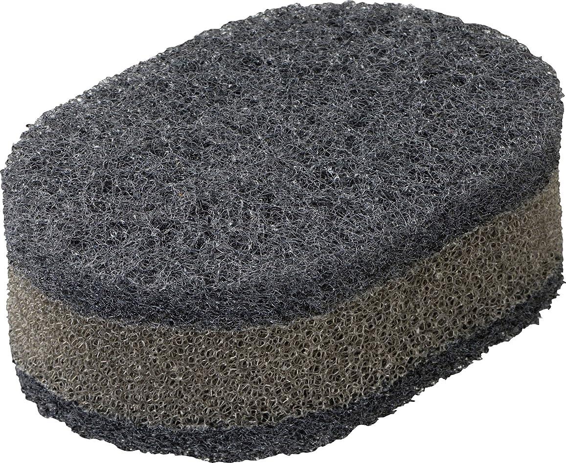 ブランクくしゃくしゃ寝具ラバーゼ 有元葉子のスポンジ ブラック ブラック BB 食器用 LB-026