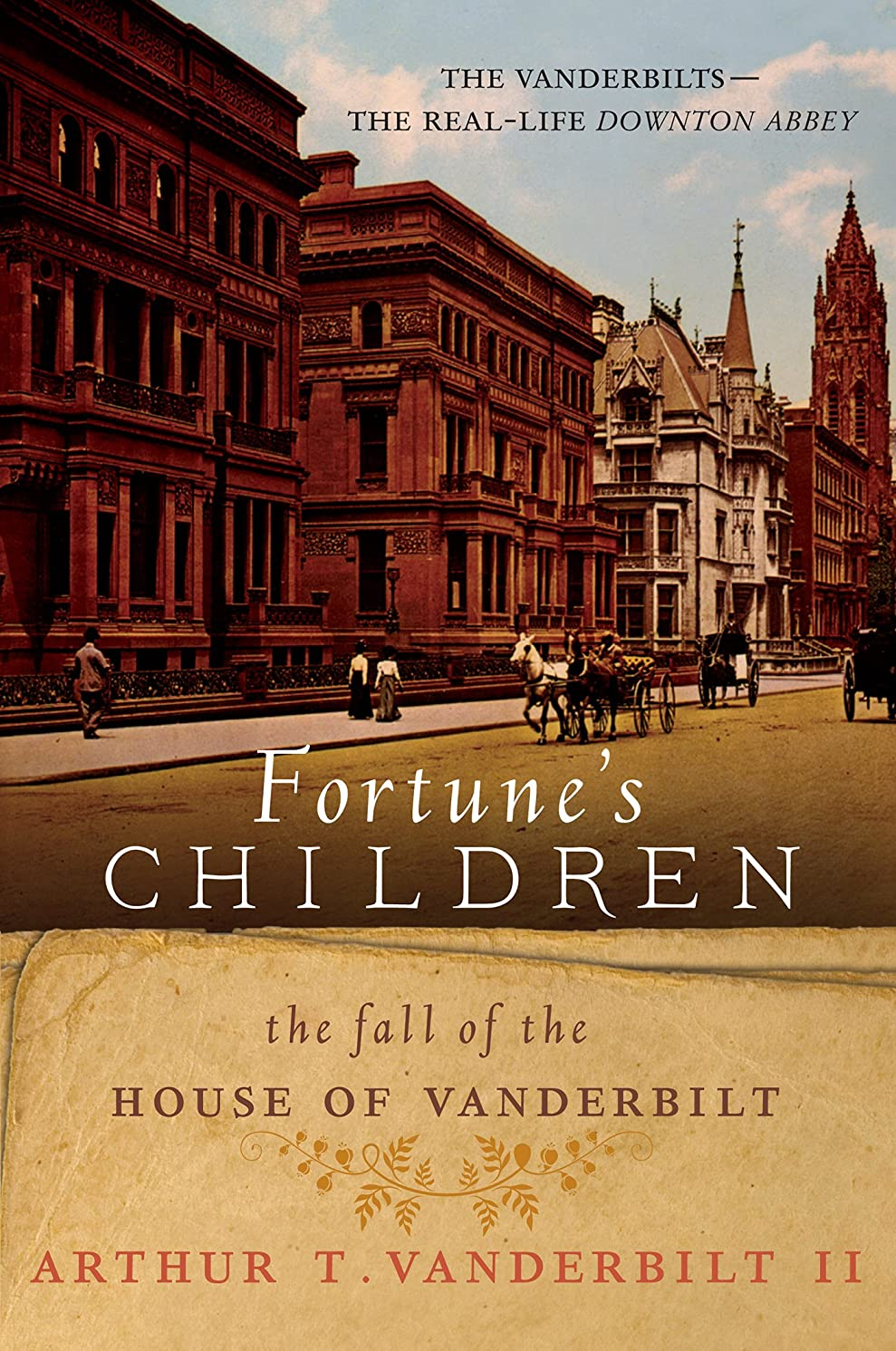 縫う導出寸前Fortune's Children: The Fall of the House of Vanderbilt (English Edition)