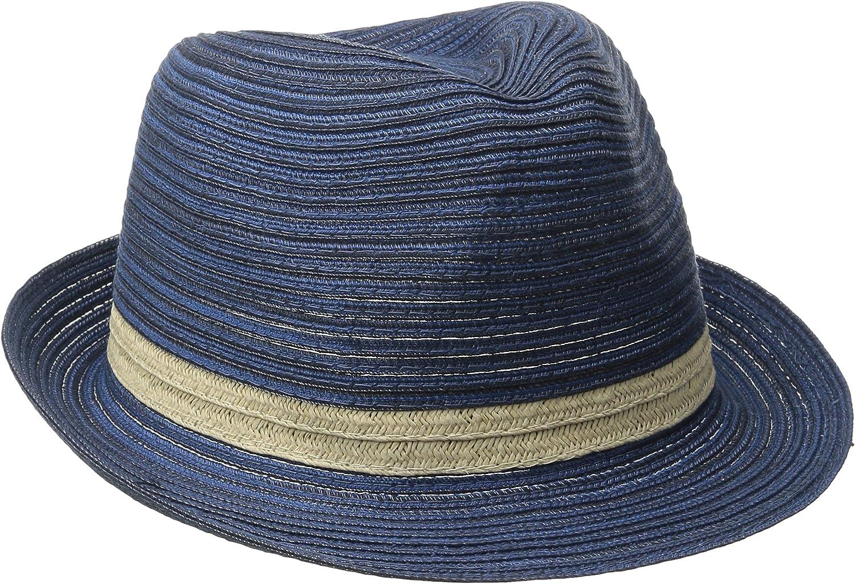 San Diego Hat Company Women's Mixed Braid Sun Hat, Fedora Sun Hat