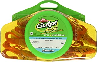 Gulp! Alive! Doubletail Swimming Mullet Fishing Bait