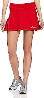 Asics, Falda Love para Mujer, XL, Color Rojo