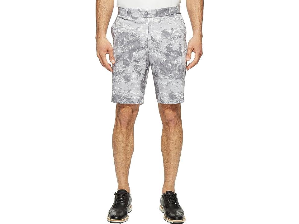 Nike Golf Modern Fit Seasonal Print Shorts (White/White) Men