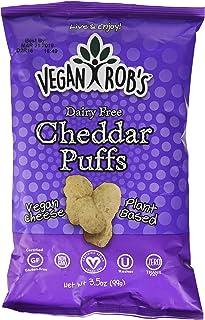 Vegan Rob's Dairy Free Cheddar Puffs, 3.5 oz