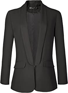 Women's Office Blazer Jacket Open Front