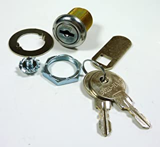 6 PACK PINBALL MACHINE AND ARCADE MACHINE LOCK 7/8 INCH LENGTH