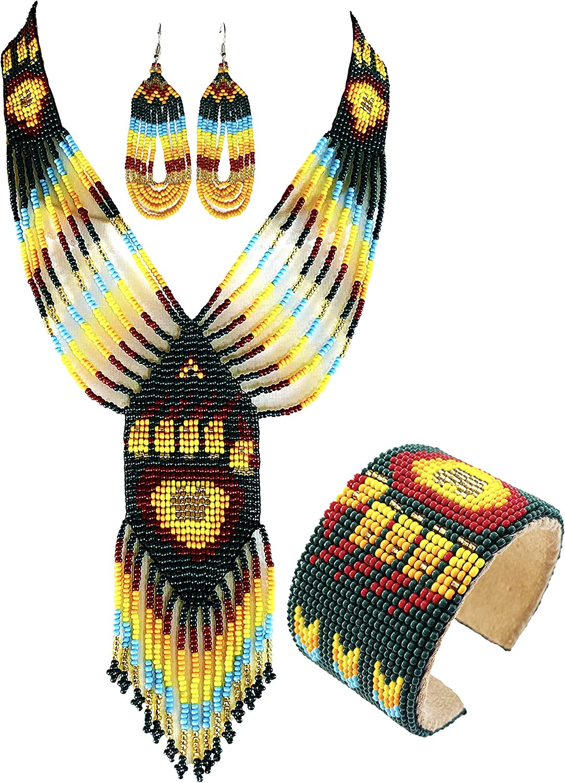 Bear Paw Turtle Design Jewelry テレビで話題 Ha Earrings Set Bracelet Necklace 爆安プライス