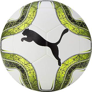 Puma Final 5 Hardground Balón de Fútbol, Puma White-Lemon Tonic-Puma Black, 5