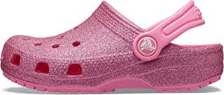 Kids' Classic Glitter Clog | Glitter Shoes for Girls |...